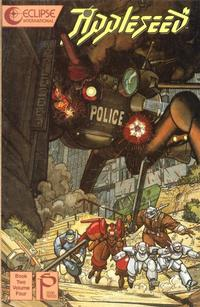 Cover Thumbnail for Appleseed (Eclipse, 1988 series) #v2#4
