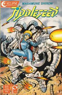 Cover Thumbnail for Appleseed (Eclipse, 1988 series) #v3#1