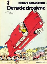 Cover Thumbnail for Benny Bomsterk (Semic, 1983 series) #1 - De røde drosjene