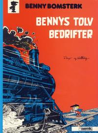 Cover Thumbnail for Benny Bomsterk (Semic, 1983 series) #3 - Bennys tolv bedrifter