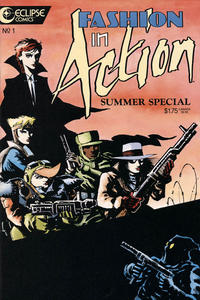 Cover Thumbnail for Fashion in Action Summer Special (Eclipse, 1986 series) #1
