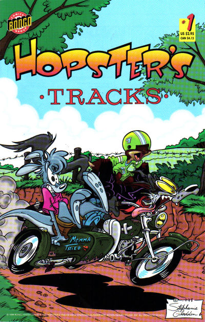 Cover for Hopster's Tracks (Bongo, 1998 series) #1