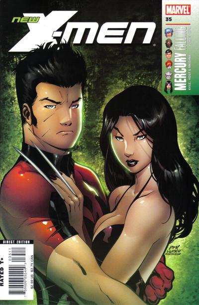 Cover for New X-Men (Marvel, 2004 series) #35