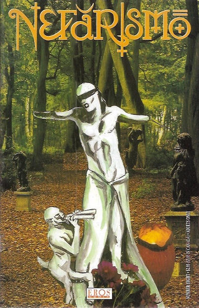Cover for Nefarismo (Fantagraphics, 1994 series) #8