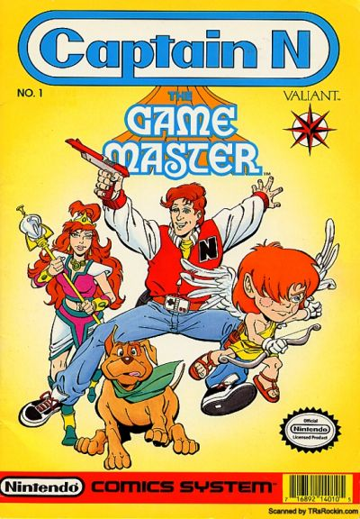 Cover for Captain N: The Game Master (Acclaim / Valiant, 1990 series) #1