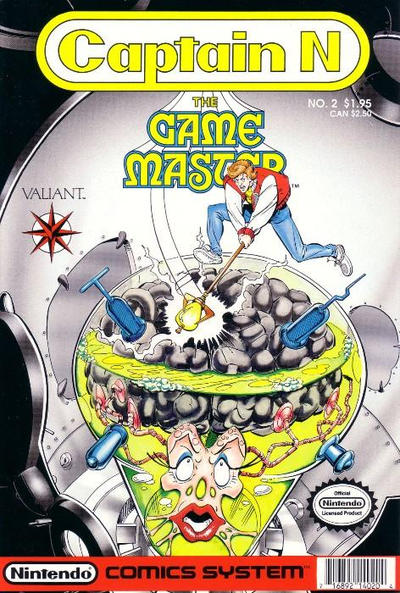 Cover for Captain N: The Game Master (Acclaim / Valiant, 1990 series) #2