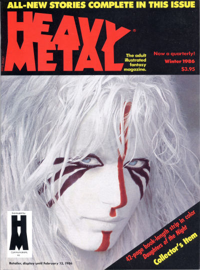 Cover for Heavy Metal Magazine (HM Communications, Inc., 1977 series) #v9#10