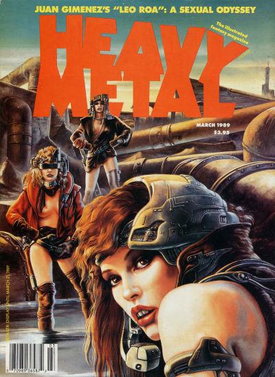 Cover for Heavy Metal Magazine (Heavy Metal, 1977 series) #v13#1
