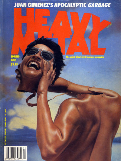 Cover for Heavy Metal Magazine (HM Communications, Inc., 1977 series) #v11#1