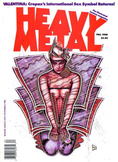 Cover for Heavy Metal Magazine (HM Communications, Inc., 1977 series) #v12#3