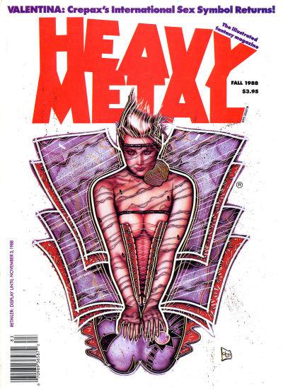 Cover for Heavy Metal Magazine (Heavy Metal, 1977 series) #v12#3