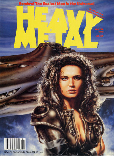 Cover for Heavy Metal Magazine (HM Communications, Inc., 1977 series) #v12#4