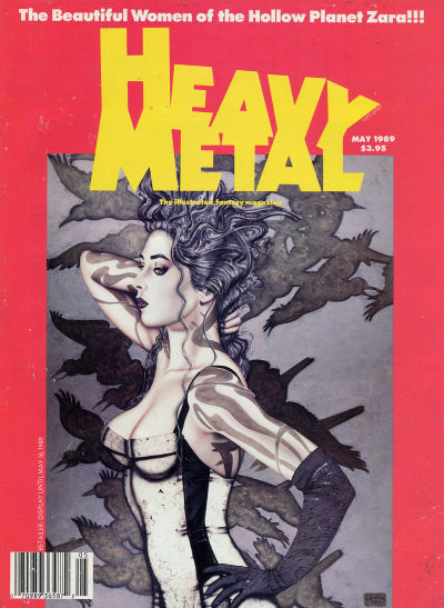 Cover for Heavy Metal Magazine (HM Communications, Inc., 1977 series) #v13#2