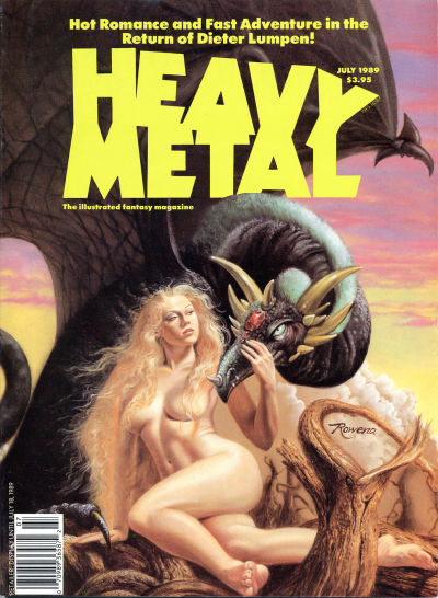 Cover for Heavy Metal Magazine (Heavy Metal, 1977 series) #v13#3