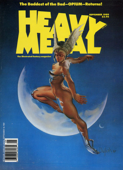 Cover for Heavy Metal Magazine (Heavy Metal, 1977 series) #v13#4