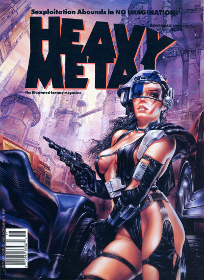 Cover for Heavy Metal Magazine (Heavy Metal, 1977 series) #v13#5