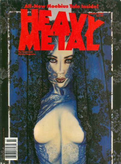 Cover for Heavy Metal Magazine (HM Communications, Inc., 1977 series) #v14#1