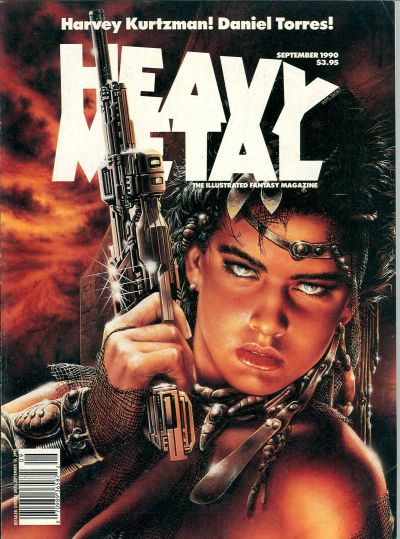 Cover for Heavy Metal Magazine (HM Communications, Inc., 1977 series) #v14#4