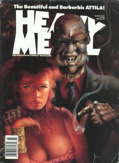 Cover for Heavy Metal Magazine (Heavy Metal, 1977 series) #v15#1