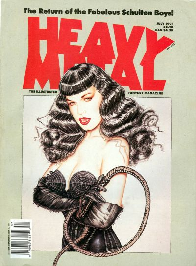 Cover for Heavy Metal Magazine (HM Communications, Inc., 1977 series) #v15#3