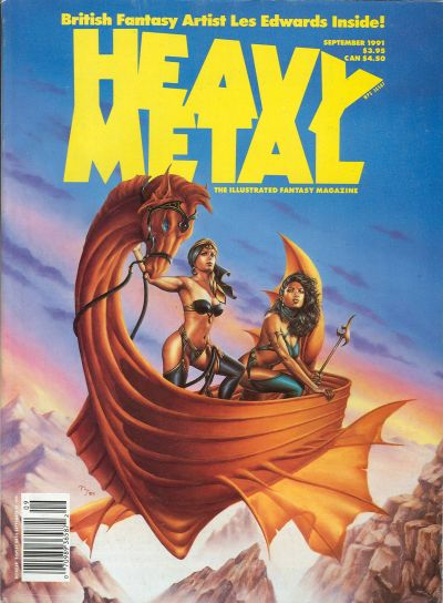 Cover for Heavy Metal Magazine (HM Communications, Inc., 1977 series) #v15#4