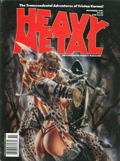 Cover for Heavy Metal Magazine (Heavy Metal, 1977 series) #v15#5
