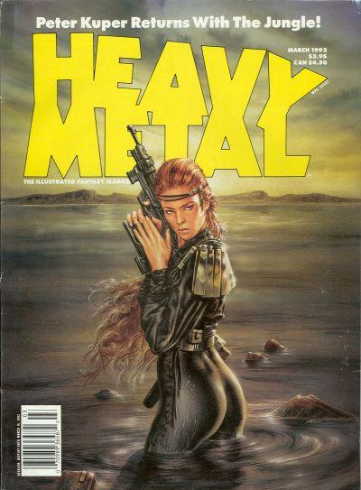Cover for Heavy Metal Magazine (HM Communications, Inc., 1977 series) #v15#6 [v16#1]