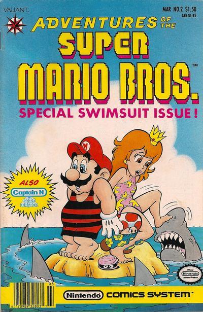 Cover for Adventures of the Super Mario Bros. (Acclaim / Valiant, 1990 series) #2