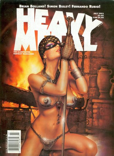Cover for Heavy Metal Magazine (Heavy Metal, 1977 series) #v16#2 [3]