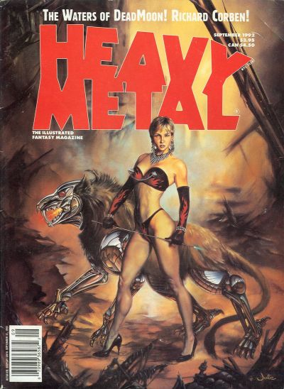 Cover for Heavy Metal Magazine (Heavy Metal, 1977 series) #v17 [16]#3 [4]