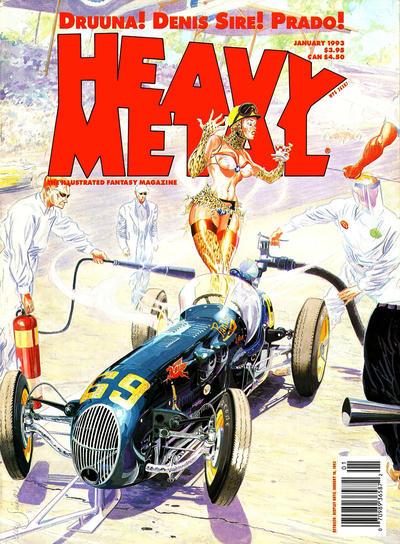 Cover for Heavy Metal Magazine (Heavy Metal, 1977 series) #v18 [16]#5 [6]