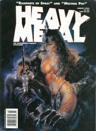 Cover for Heavy Metal Magazine (Heavy Metal, 1977 series) #v19 [17]#6 [1]