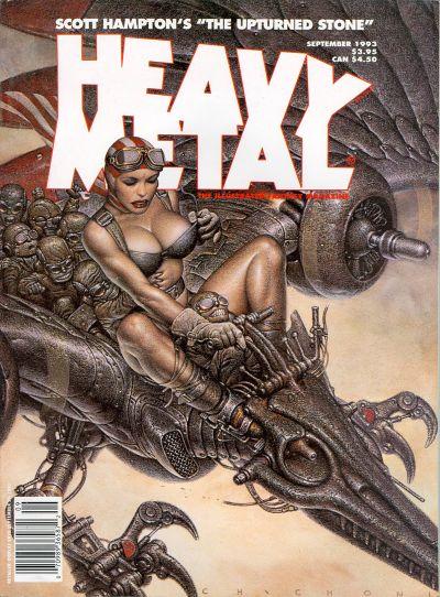 Cover for Heavy Metal Magazine (Heavy Metal, 1977 series) #v17#4