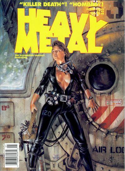 Cover for Heavy Metal Magazine (Heavy Metal, 1977 series) #v17#6