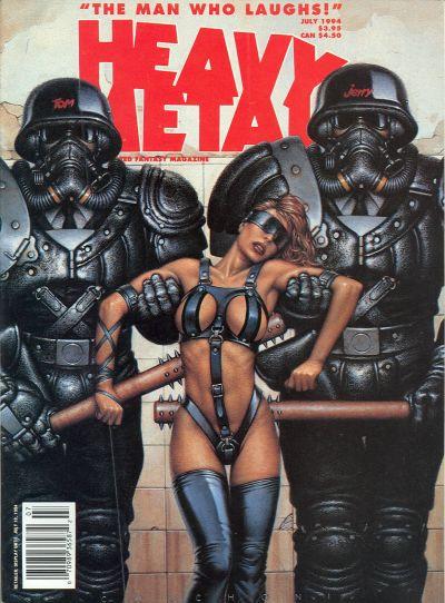 Cover for Heavy Metal Magazine (Heavy Metal, 1977 series) #v18#3