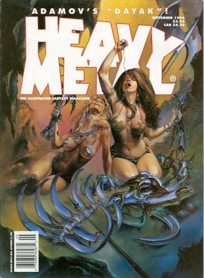Cover for Heavy Metal Magazine (Heavy Metal, 1977 series) #v18#4