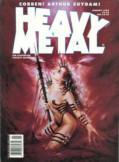 Cover for Heavy Metal Magazine (Heavy Metal, 1977 series) #v18#6