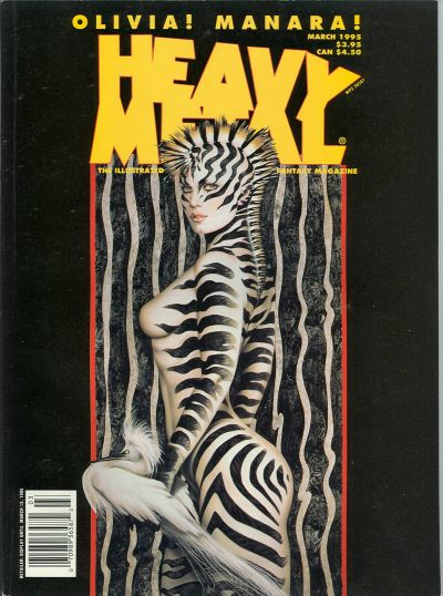 Cover for Heavy Metal Magazine (Heavy Metal, 1977 series) #v19#1