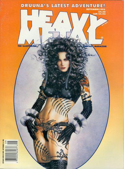 Cover for Heavy Metal Magazine (Heavy Metal, 1977 series) #v19#4