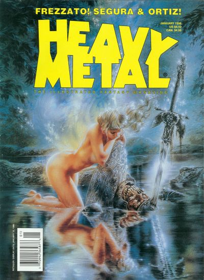 Cover for Heavy Metal Magazine (Heavy Metal, 1977 series) #v19#6