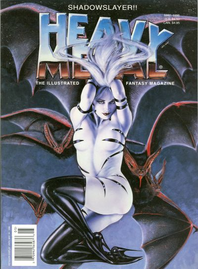 Cover for Heavy Metal Magazine (Heavy Metal, 1977 series) #v20#2