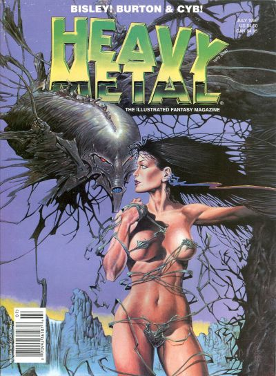 Cover for Heavy Metal Magazine (Heavy Metal, 1977 series) #v20#3