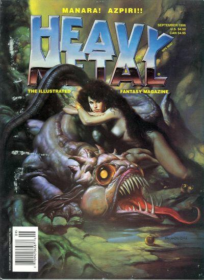 Cover for Heavy Metal Magazine (Heavy Metal, 1977 series) #v20#4