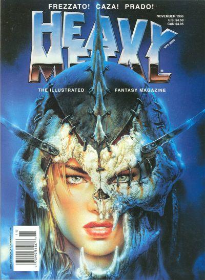 Cover for Heavy Metal Magazine (Heavy Metal, 1977 series) #v20#5