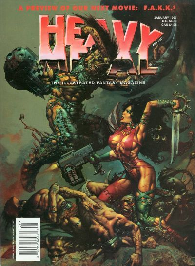 Cover for Heavy Metal Magazine (Heavy Metal, 1977 series) #v20#6