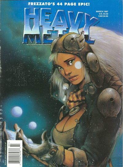 Cover for Heavy Metal Magazine (Heavy Metal, 1977 series) #v21#1