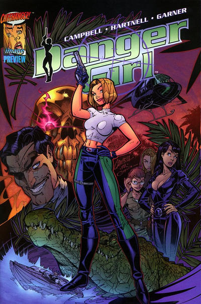 Cover for Danger Girl Preview (Image, 1997 series)