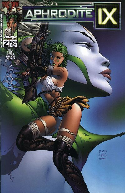 Cover for Aphrodite IX (Image, 2000 series) #2