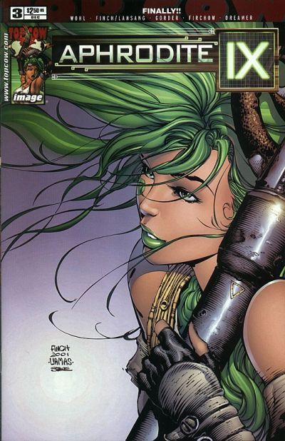 Cover for Aphrodite IX (Image, 2000 series) #3