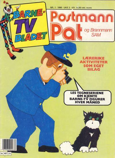 Cover for Barne-TV-bladet (Semic, 1990 series) #1/1990